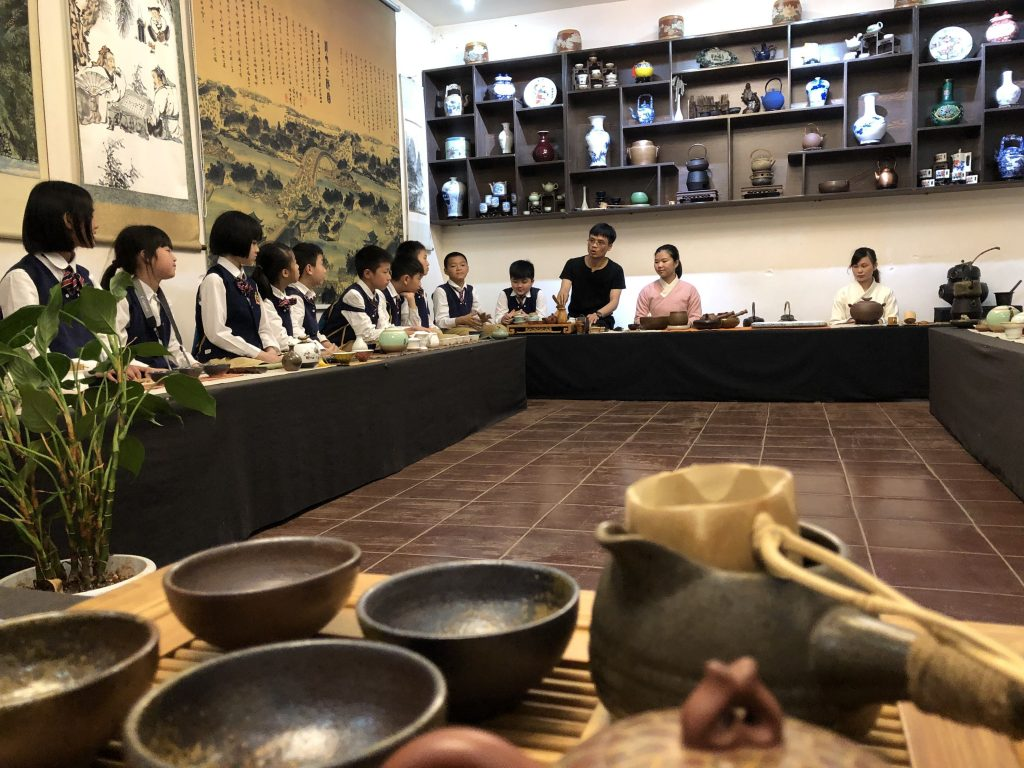 Sunny School Student Immersive Field Trip Chinese Culture