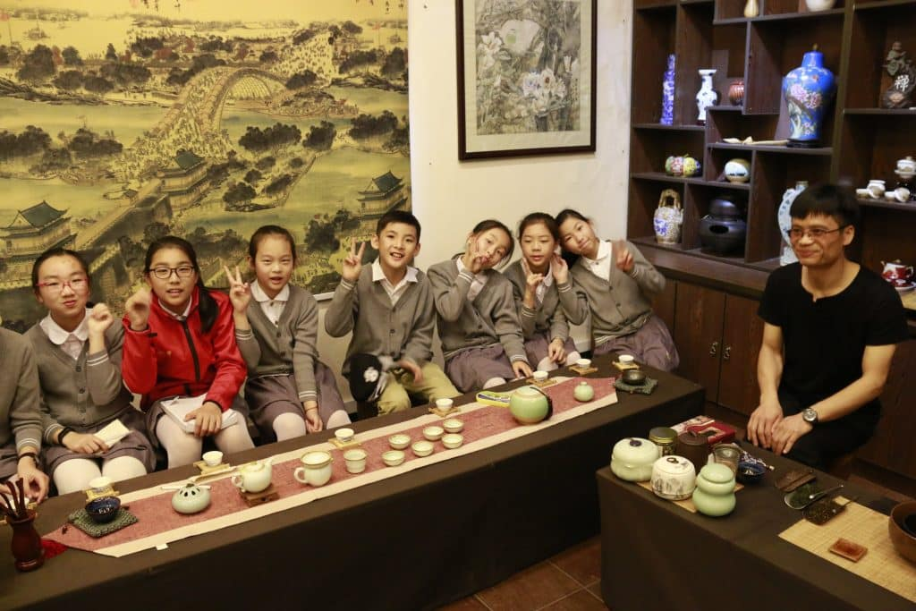 Sunny School Student Immersive Field Trip Local Tea Tasting