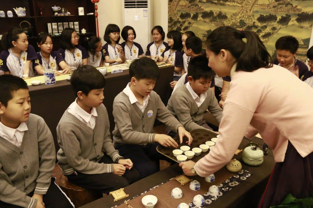 Sunny School Student Immersive Field Trip Chinese Tea Tasting